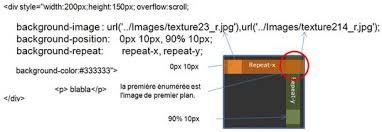 div background url mon web facile nouveaut礬s css en html5