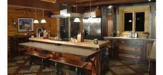 plancher ardoise cuisine cuisine rustique plancher d ardoise avec de lattes