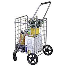 amazon cart price increase black friday amazon com trolley dolly blue shopping grocery foldable cart