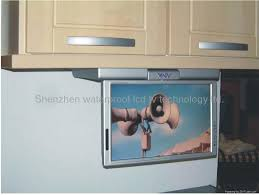 Tv Kitchen Cabinet Tv Under Cabinet Kitchen With Kitchen Tv Awesome Image 1 Of 19