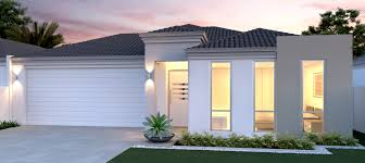 beach style contemporary two storeys home design ideas exterior 1