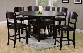 High Dining Room Sets 42 High Dining Table Best Of 7 Pc Counter Height Set W Lazy
