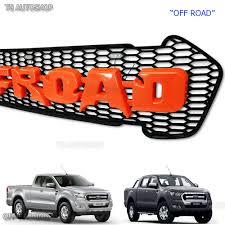 Ford Raptor Orange - raptor off road orange grill grille fit ford ranger px2 fx4 mk2
