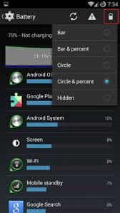 paranoid android rom how to display battery percentage on paranoid android kitkat rom