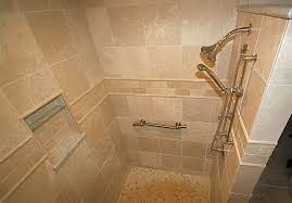 Shower Designs Without Doors Walk In Tile Showers Without Doors The Large Walk In Shower Is A