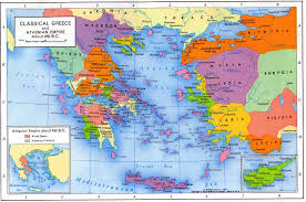 Greece On World Map Map Of Greece