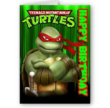 teenage mutant ninja turtle birthday ecards