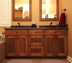 Bathroom Base Cabinets Craftsman Bathroom Vanity Cabinets Home Design Ideas Inside