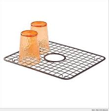 kitchen sinks drop in sink mats with drain hole double bowl oval