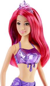 barbie fairytale mermaid gem fashion doll target