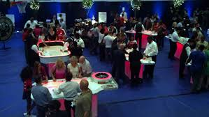 table rentals dc led casino table party rentals md dc va led black table