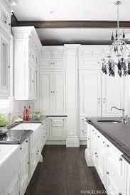 Kitchen Interiors Design Best 25 Rustic White Kitchens Ideas On Pinterest Cottage