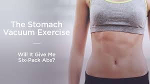 Vaccum Abs Bored Of Doing Crunches Try Out The U0027stomach Vacuum U0027 Exercise To