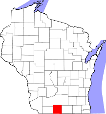 Map Of Green Bay Wisconsin by File Map Of Wisconsin Highlighting Green County Svg Wikimedia