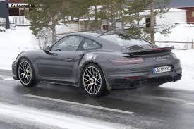 porsche 911 facelift porsche 911 turbo facelift reveal interior auto