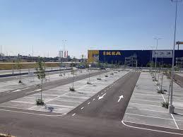 ikea parking lot not a diy project lafargeholcim builds a top of the line parking