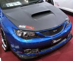 subaru hatchback 2007 oem style dry carbon hood for 2008 2014 subaru wrx sti