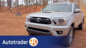 2013 toyota tacoma truck totally tested review autotrader