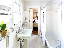 master bath idea white walls cream colored counters and his