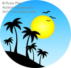 clipart palm tree pencil and in color clipart