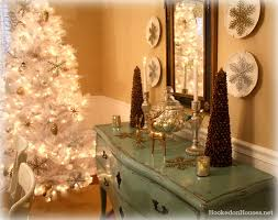 Christmas Dining Room Decorations My Silver U0026 Gold Dining Room Decorated For Christmas