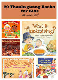 20 thanksgiving books for the