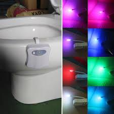 toilet bowl light heymate motion activated toilet nightlight 8