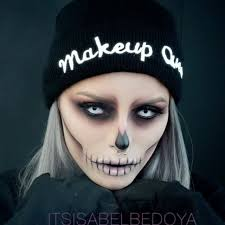 instagram insta glam halloween makeup halloween makeup this epic skull makeup is perfect for halloween and also super