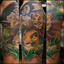 19 best lion king tattoo sleeve images on pinterest draw father