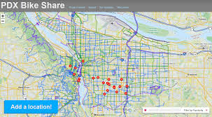 Portland Zoning Map by Where Should Portland U0027s Bikeshare Stations Go Ten Maps That Might