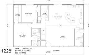 30 X 50 Open Floor Plans Homes Zone 16 X 50 Floor Plans