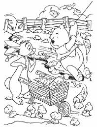 cute halloween coloring pages kids winnie pooh hallowen