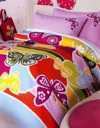 rainbow butterflies quilt cover set butterfly bedding kids