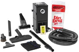 Vaccum System Amazon Com H P Products 9614 Black All In One Central Vacuum