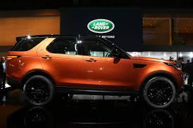 lifted land rover discovery paris 2016 land rover discovery the fifth generation gtspirit