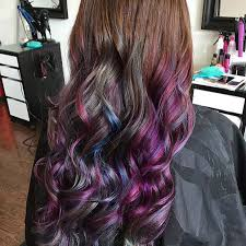 short hairstyles with peekaboo purple layer 21 looks that will make you crazy for purple hair stayglam