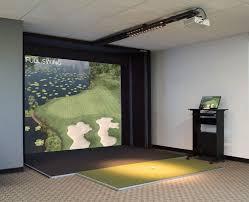 golf simulator home theater emejing indoor golf phoenix contemporary interior design ideas