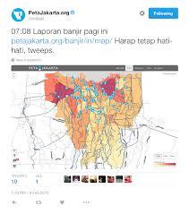 Hummingbird Migration Map Jakarta A City On The Edge Of A Social Media Revolution