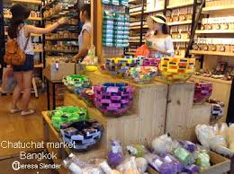 Chatuchak Market Home Decor Herbal Soap And Aromatic Candles Sell At Chatuchak Market