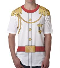 prince charming prince charming shirt men u0027s personalized white