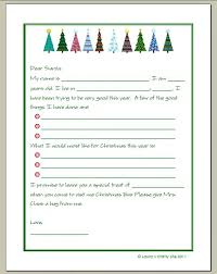 letter to santa and a printable prompts santa and free