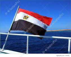 Flag Egypt National Flag Of Egypt Stock Picture I1656399 At Featurepics