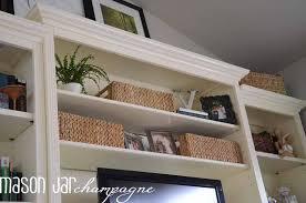 Ballard Bookcase Mason Jar Champagne Ballard Designs Shelf Makeover