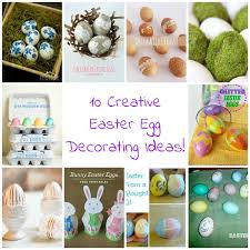 Easter Egg Decorating With Glitter by 10 Creative Easter Egg Decorating Ideas