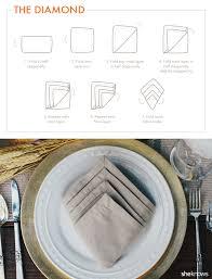 9 creative napkin folds for every type of hostess tutorial