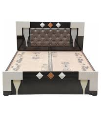 23 bed with box teak wood double bed with inlay work with box for