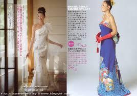 japanese wedding dresses beyond the kimono western style kimono