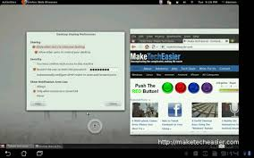 vnc android how to remote ubuntu from an android tablet