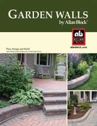 how to build a garden wall allan block retaining walls