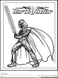 terrific star wars darth vader coloring page with darth vader